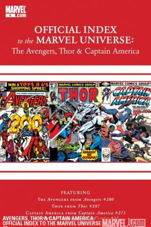 Avengers, Thor & Captain America: Official Index to the