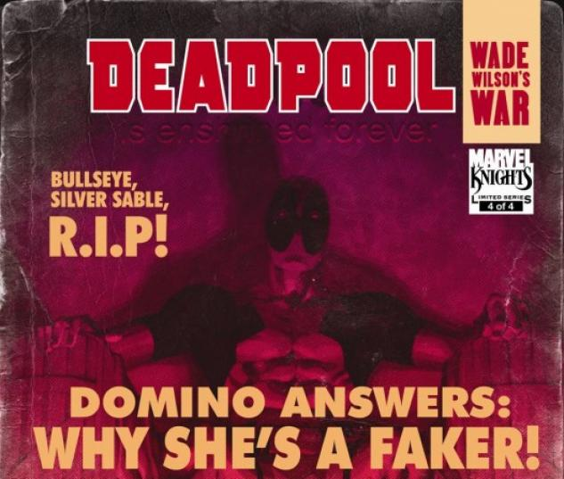 Deadpool: Wade Wilson's War (2010) #4
