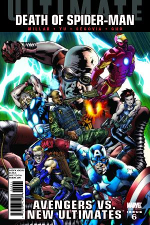 Ultimate Avengers Vs. New Ultimates (2011) #6 (Hitch Variant)