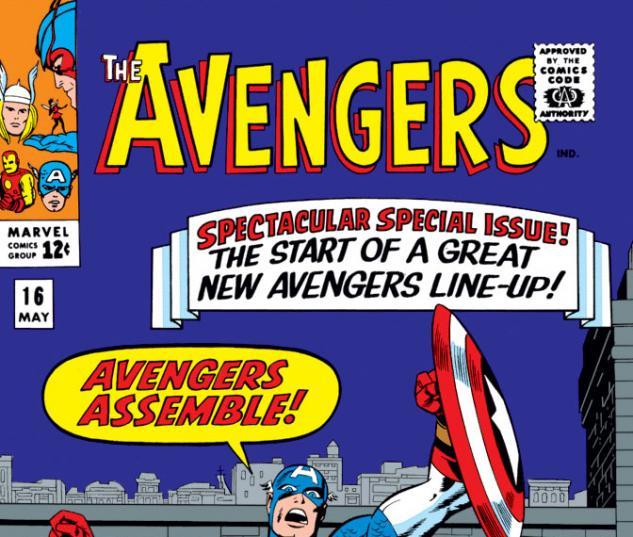 Avengers (1963) #16 cover