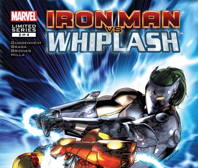 Iron Man Vs. Whiplash (2009) #2
