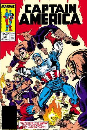 Captain America (1968) #335