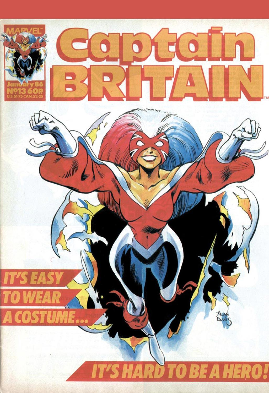 Captain Britain (1985) #13