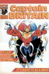 Captain Britain (1985) #13 Cover