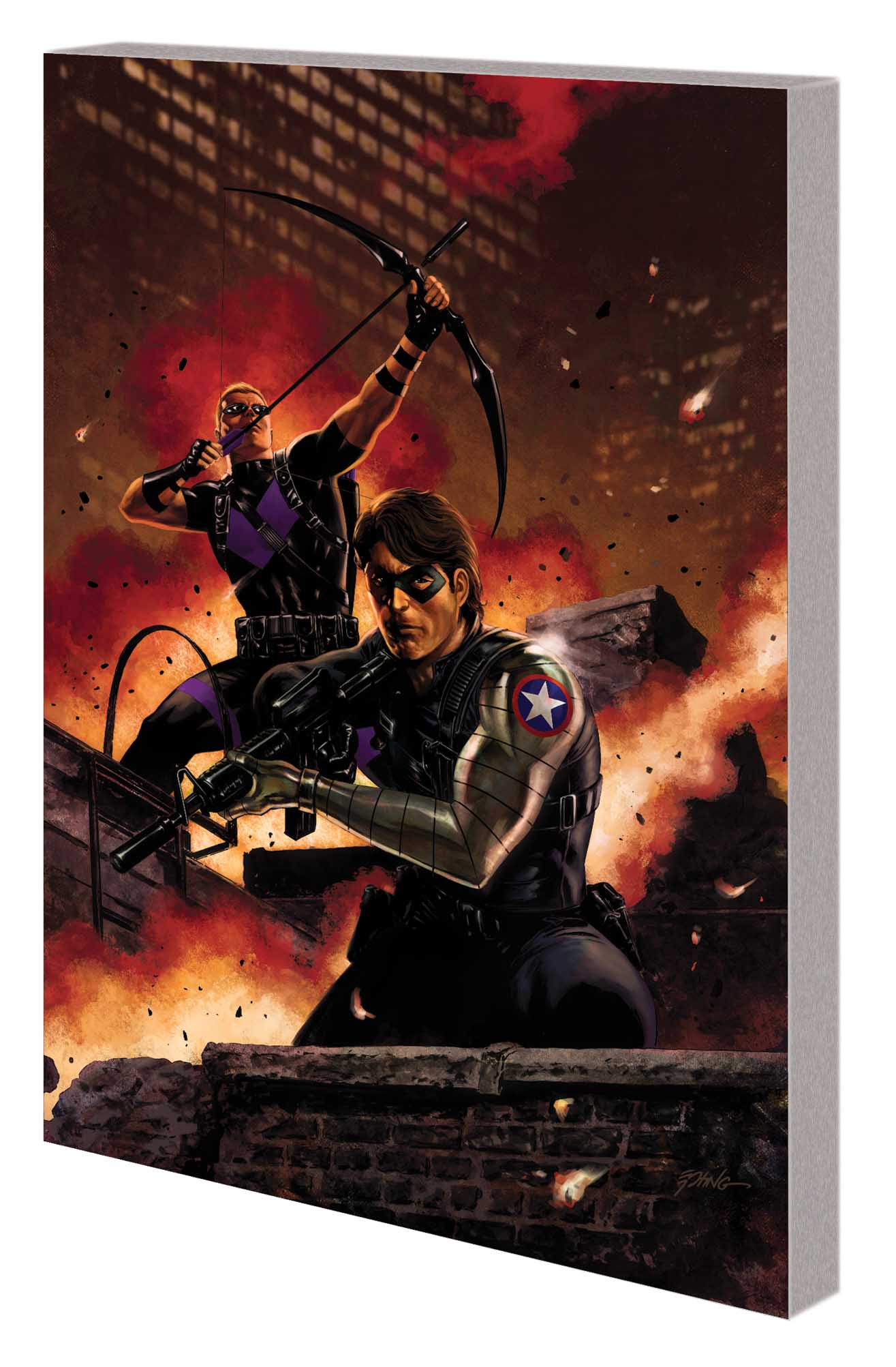 WINTER SOLDIER VOL. 3: BLACK WIDOW HUNT TPB (Trade Paperback)