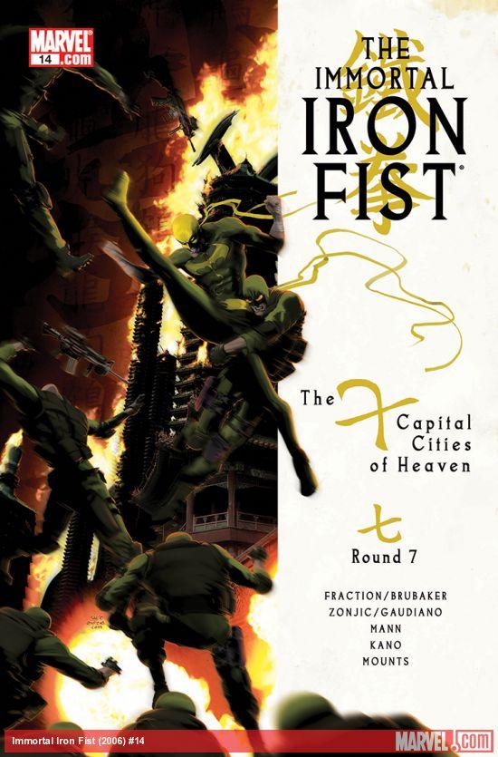 The Immortal Iron Fist (2006) #14