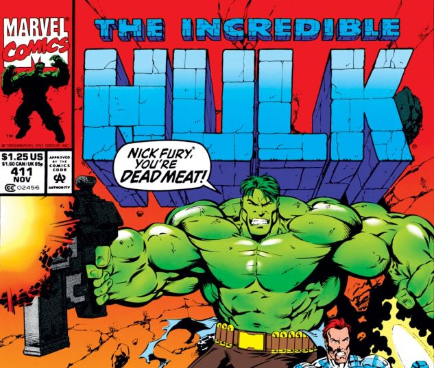 Incredible Hulk (1962) #411 Cover