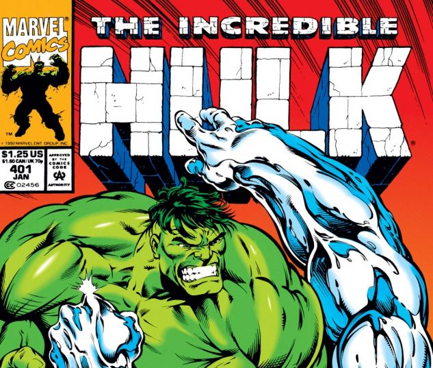 Incredible Hulk (1962) #401 Cover