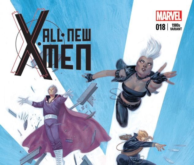 ALL-NEW X-MEN 18 TEDESCO 80S VARIANT (WITH DIGITAL CODE)