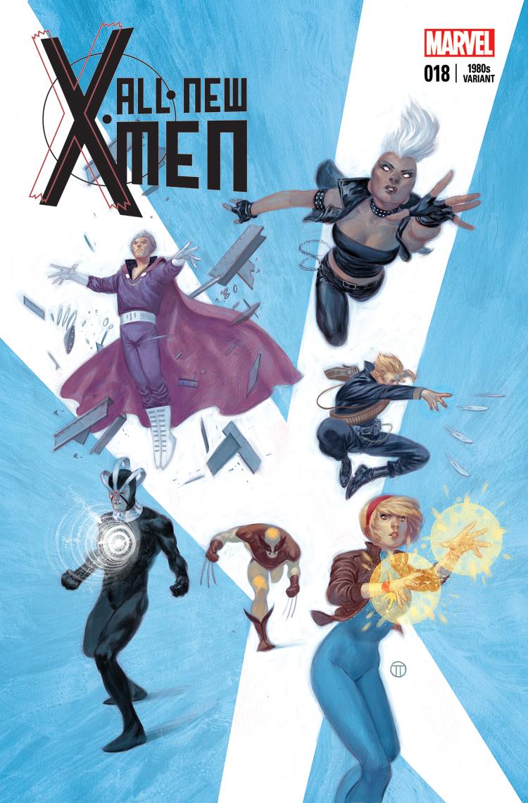 All-New X-Men (2012) #18 (Tedesco 80s Variant)