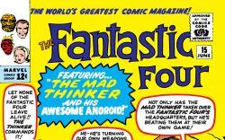 Fantastic Four (1961) #15 Cover