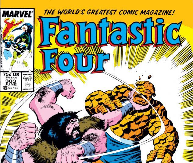 Fantastic Four (1961) #303 Cover