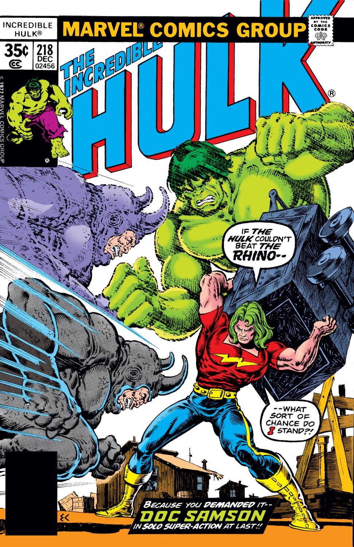 Incredible Hulk (1962) #218