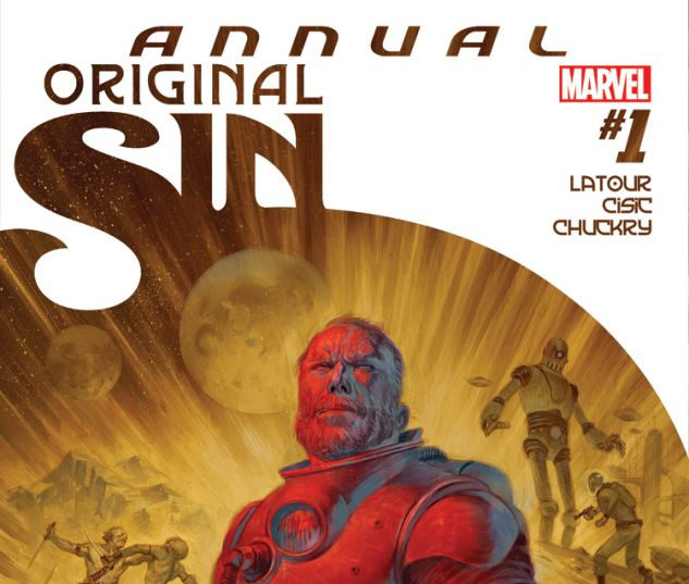 ORIGINAL SIN ANNUAL 1 (WITH DIGITAL CODE)