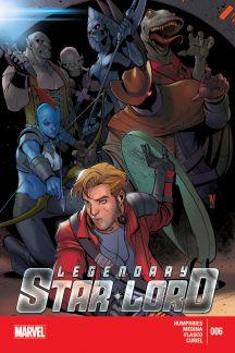 Legendary Star-Lord (2014) #6
