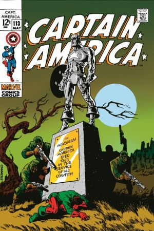 Captain America #113
