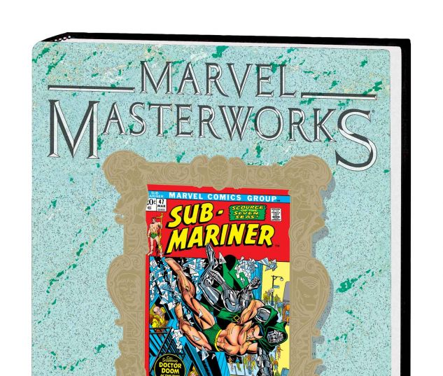 MARVEL MASTERWORKS: THE SUB-MARINER VOL. 6 HC VARIANT (DM ONLY)