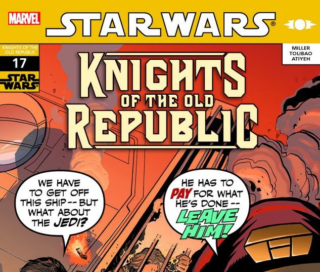 Star Wars: Knights Of The Old Republic (2006) #17
