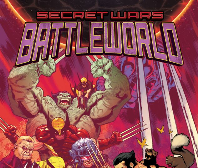 SECRET WARS: BATTLEWORLD 3 (SW, WITH DIGITAL CODE)