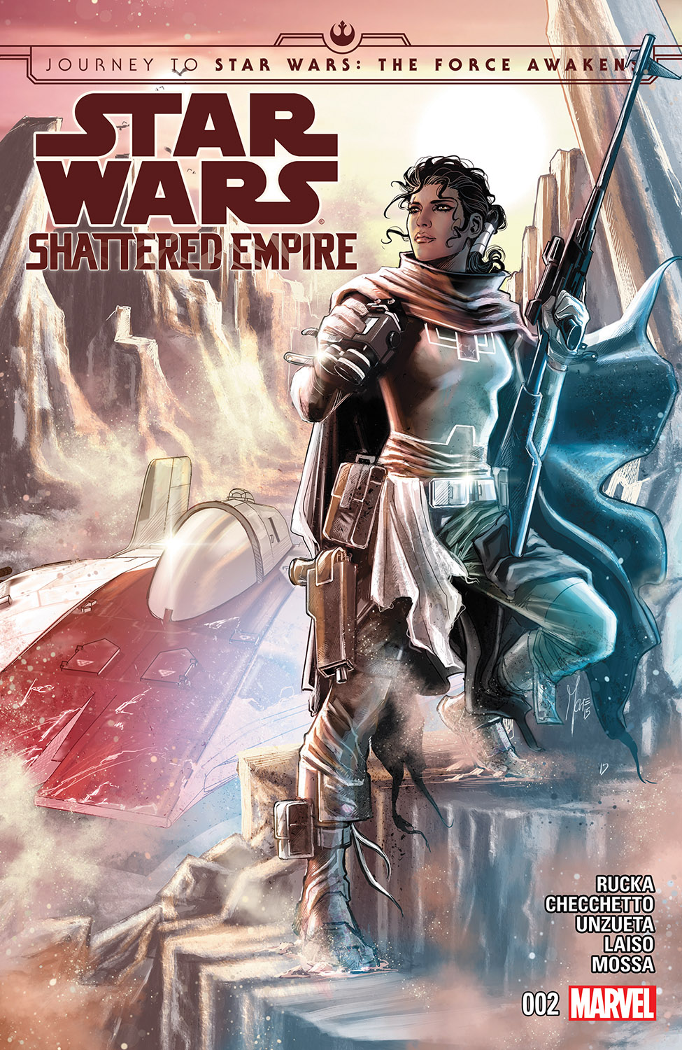 Journey to Star Wars: The Force Awakens - Shattered Empire (2015) #2