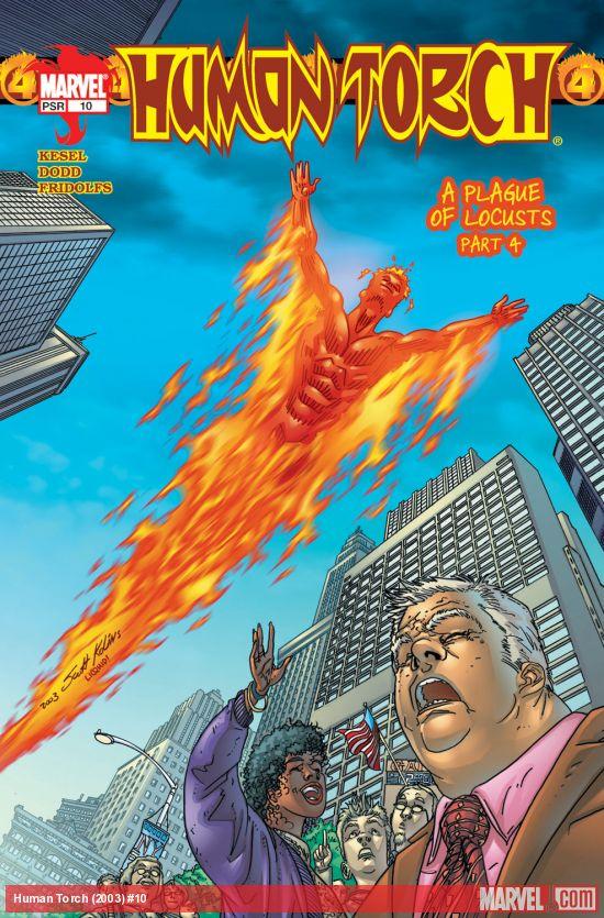 Human Torch (2003) #10