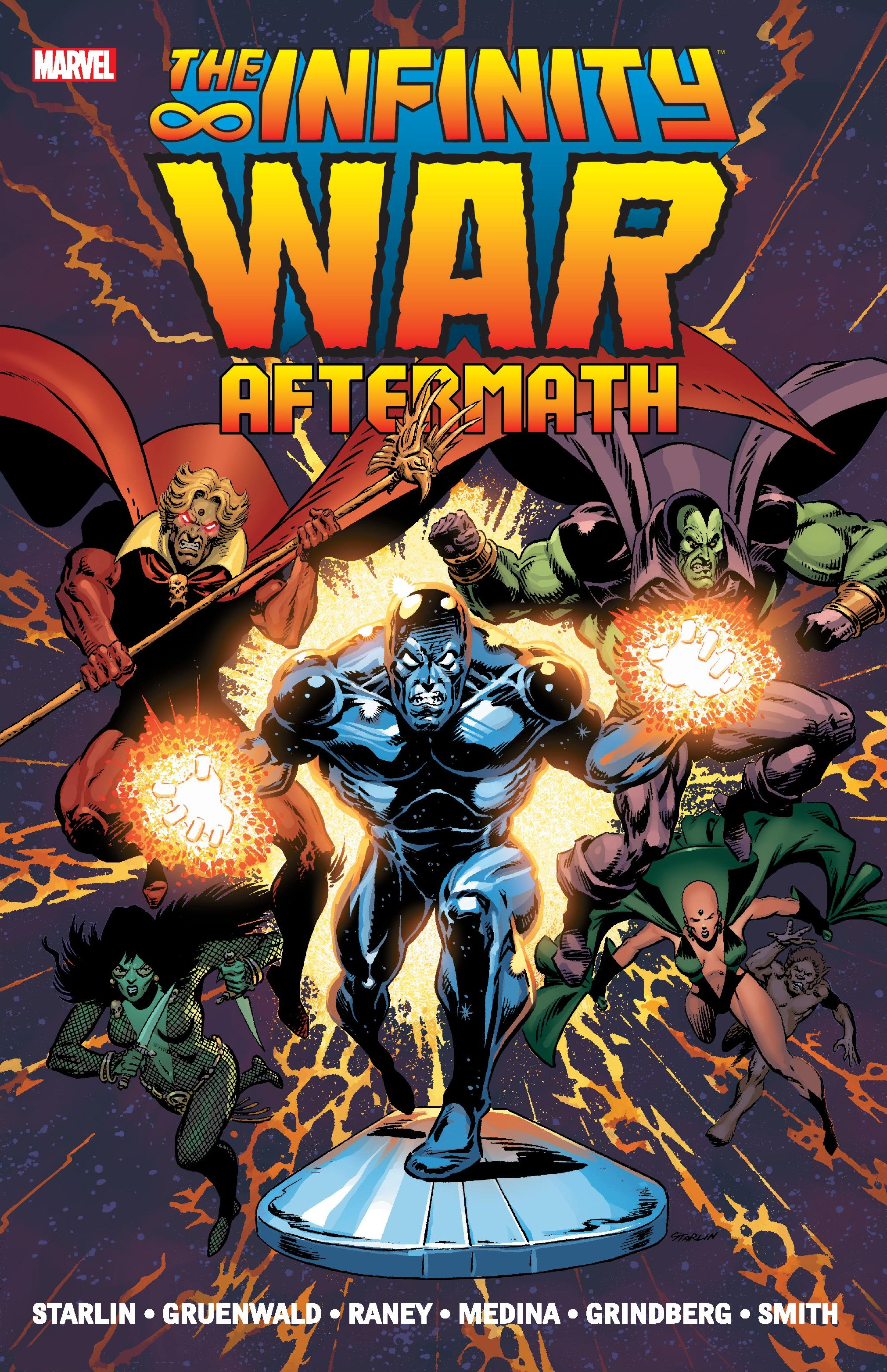 Infinity War Aftermath (Trade Paperback)