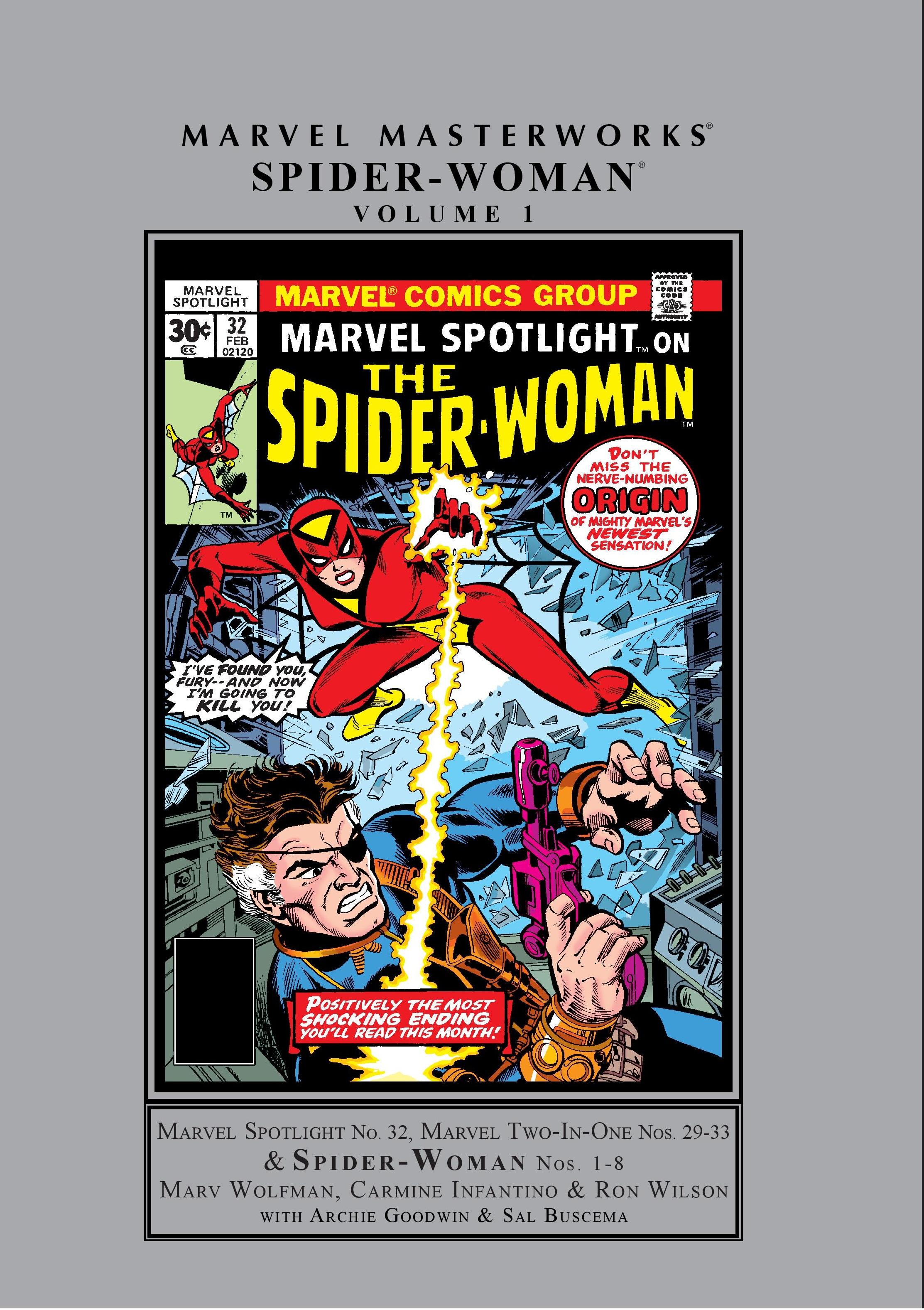 Marvel Masterworks: Spider-Woman (Hardcover)
