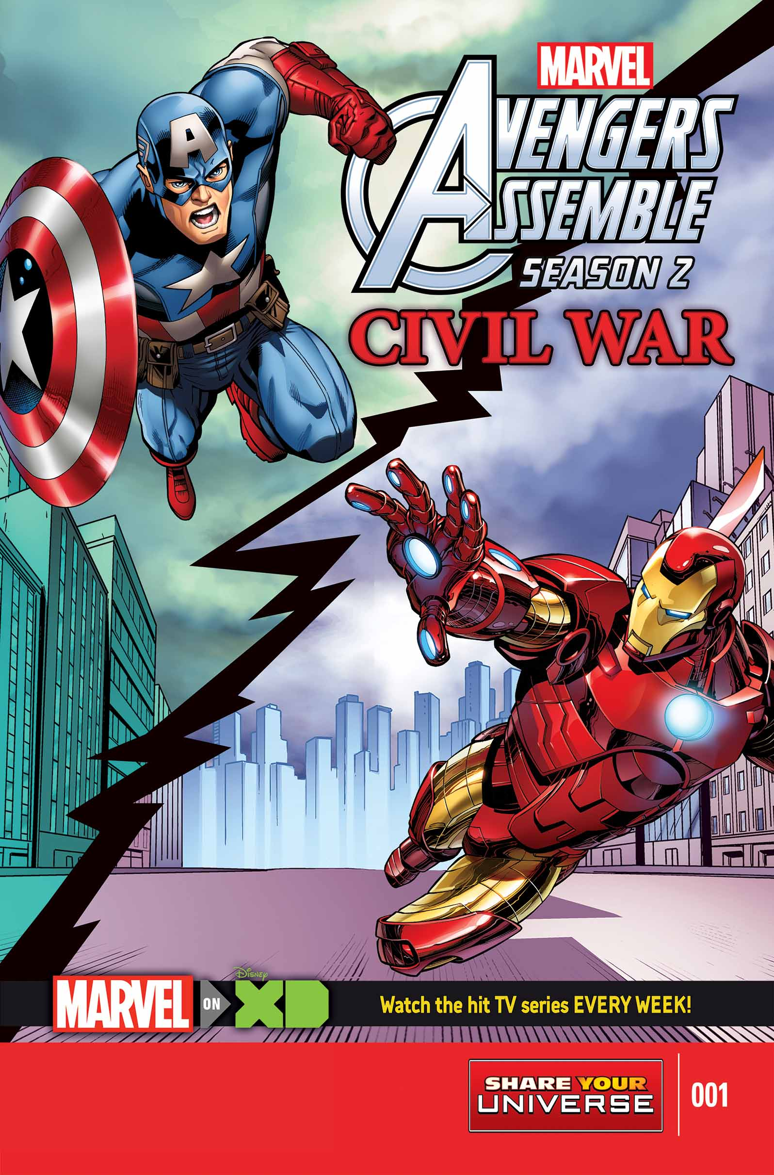Marvel Universe Avengers Assemble: Civil War (2016) #1
