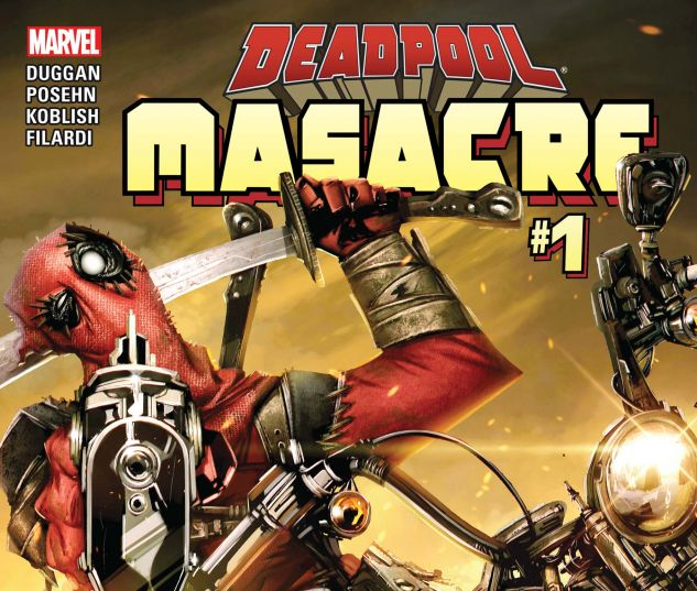 cover from Deadpool: Masacre (2016) #1