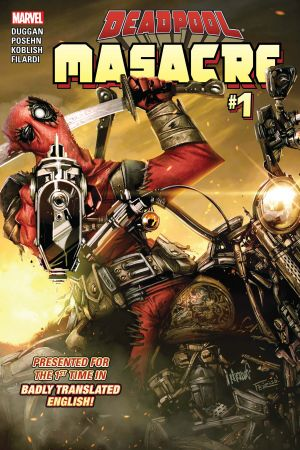 Deadpool: Masacre (2016) #1