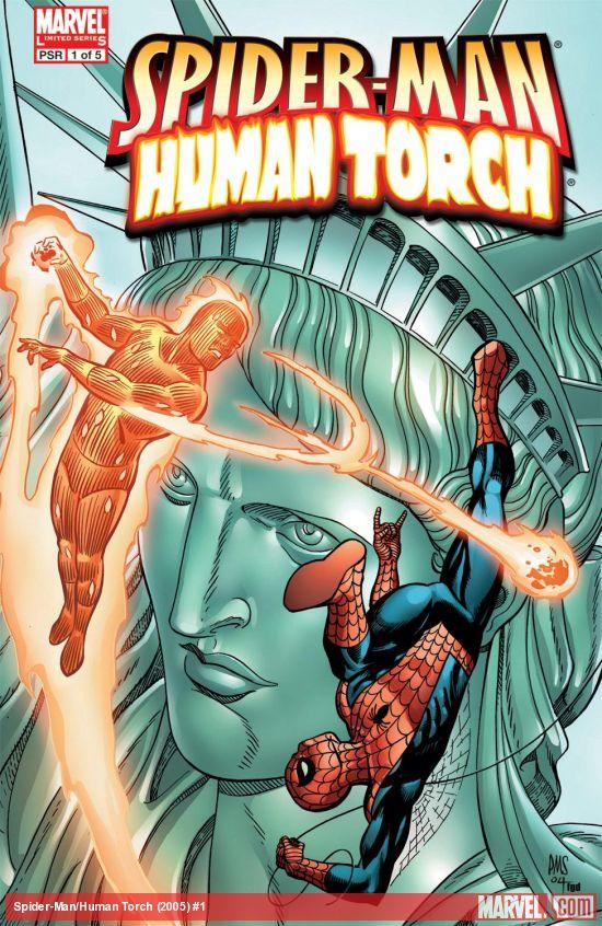 Spider-Man/Human Torch (2005) #1