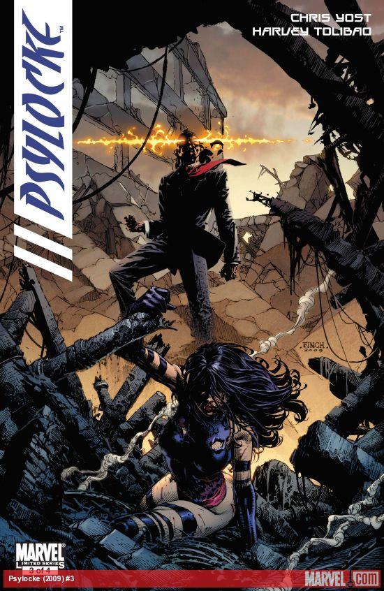 Psylocke (2009) #3
