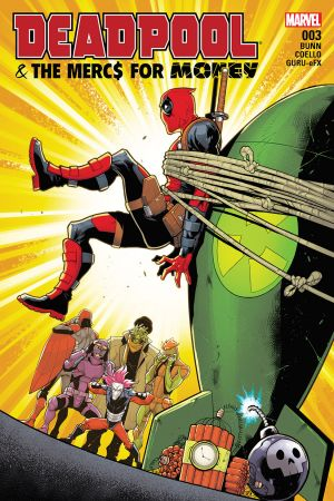 Deadpool & the Mercs for Money (2016) #3