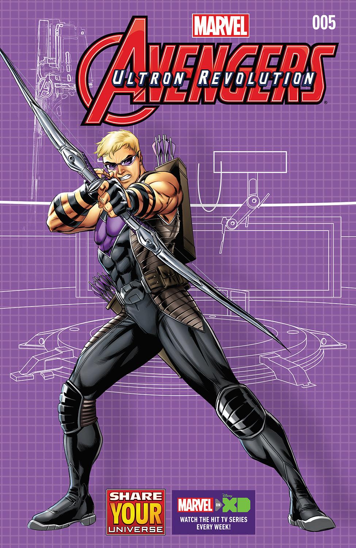 Marvel Universe Avengers: Ultron Revolution (2016) #5