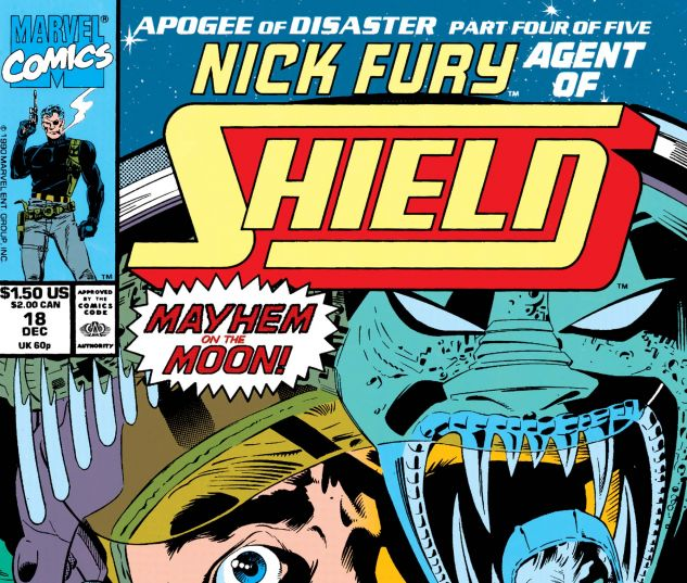 Nick Fury, Agent of Shield (1989) #18