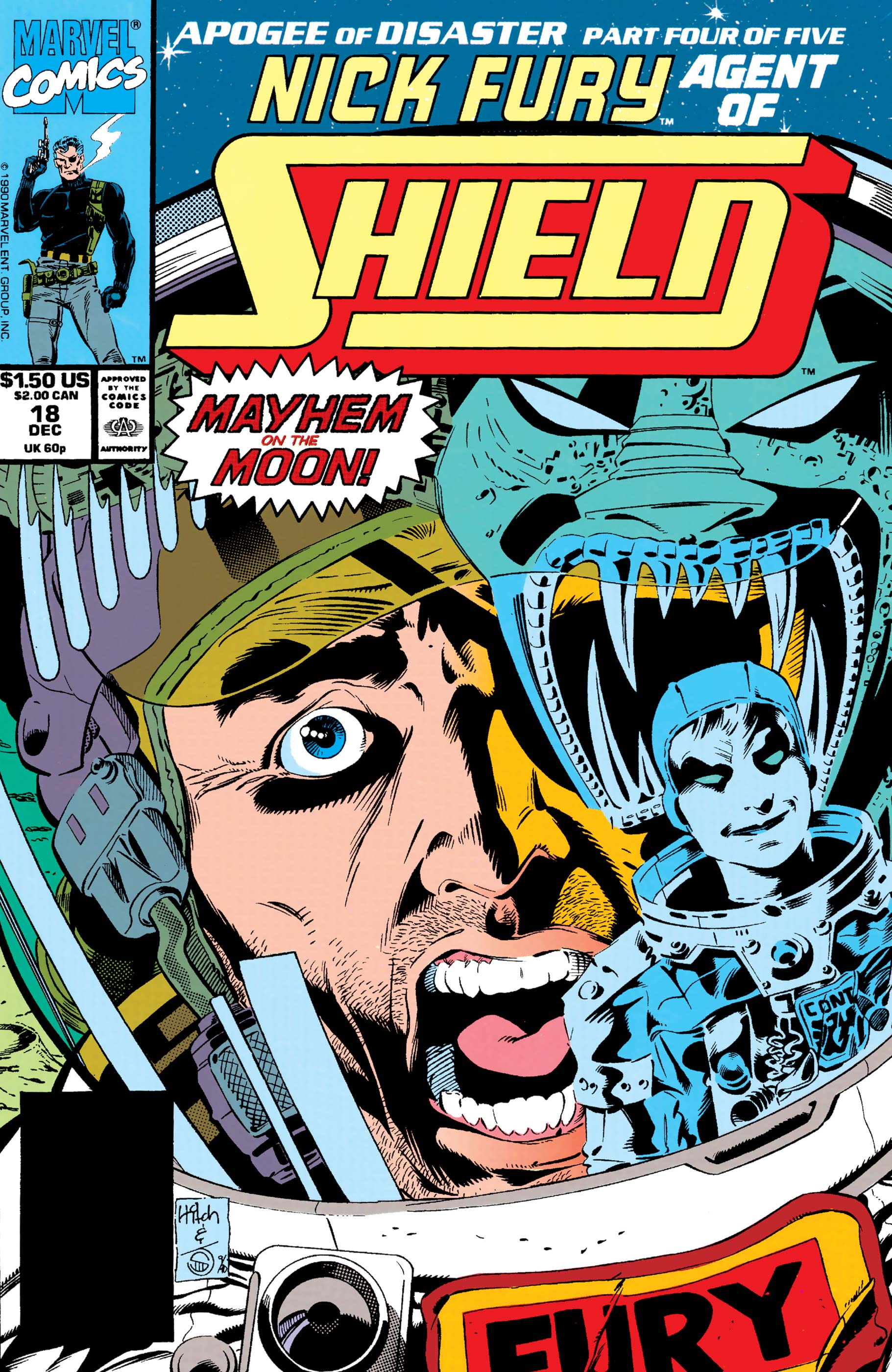 Nick Fury, Agent of S.H.I.E.L.D. (1989) #18