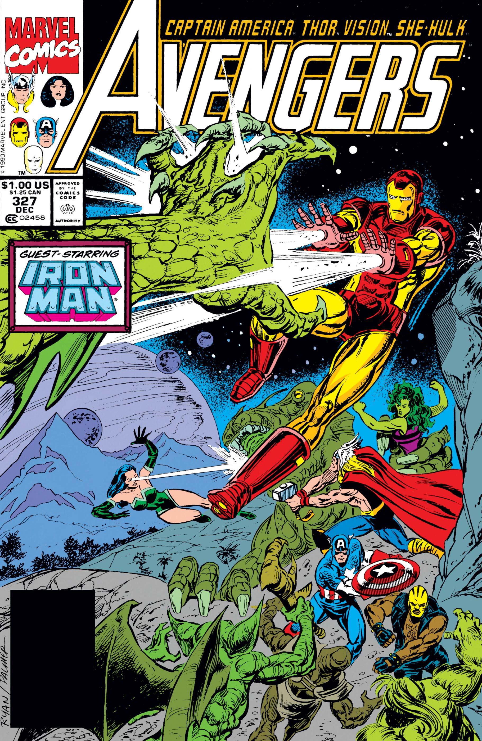 Avengers (1963) #327