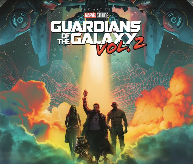 cover from Marvel's Guardians of the Galaxy: The Art of the Movie (2017)