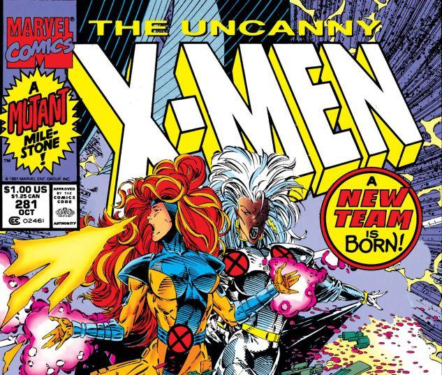UNCANNY X-MEN (1963) #281