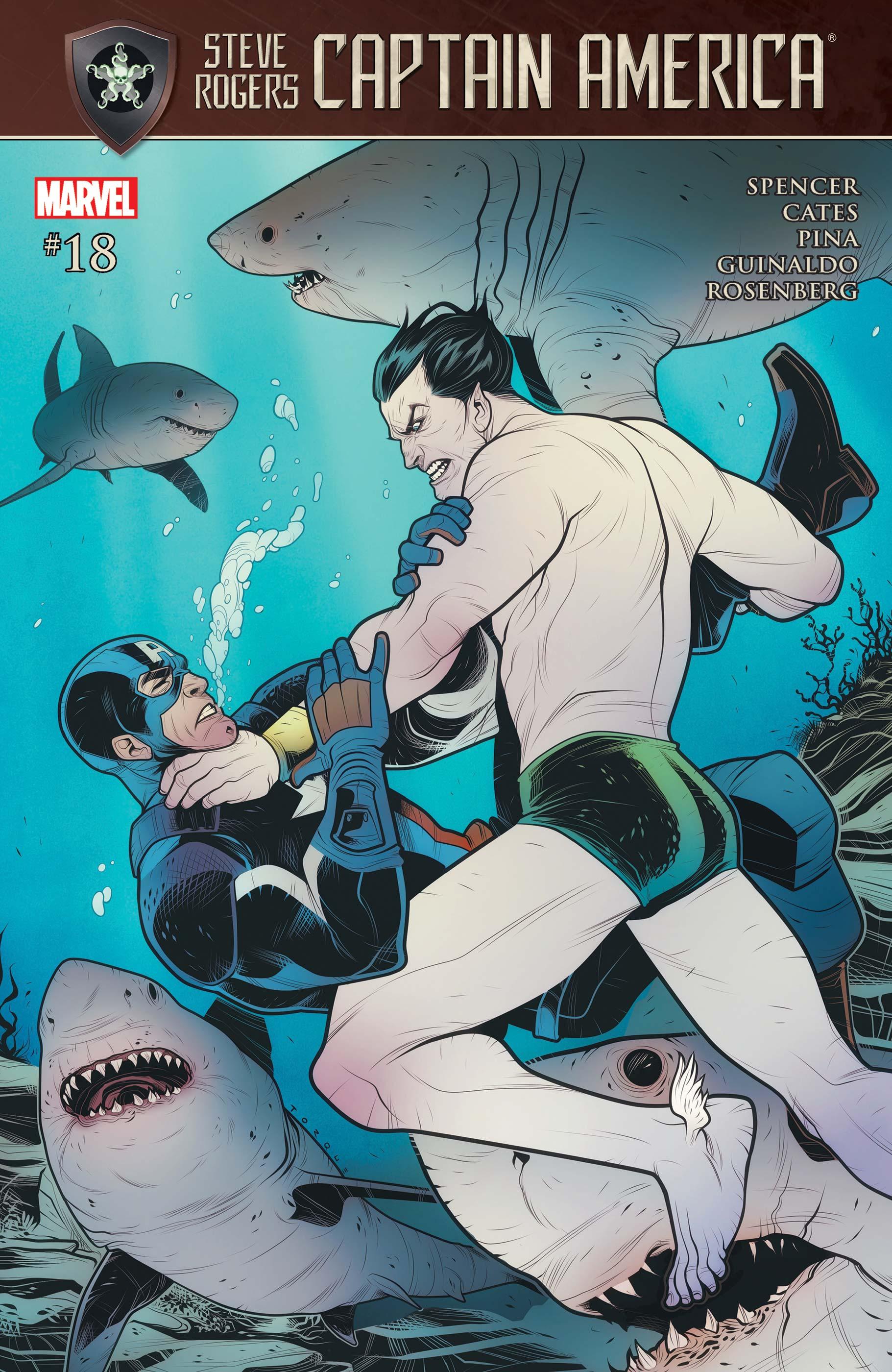 Captain America: Steve Rogers (2016) #18