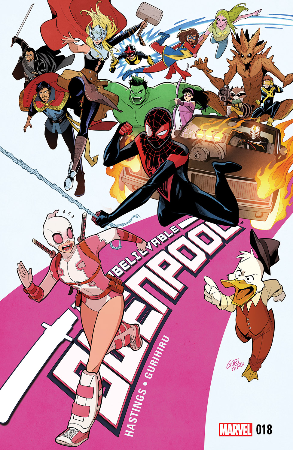 The Unbelievable Gwenpool (2016) #18