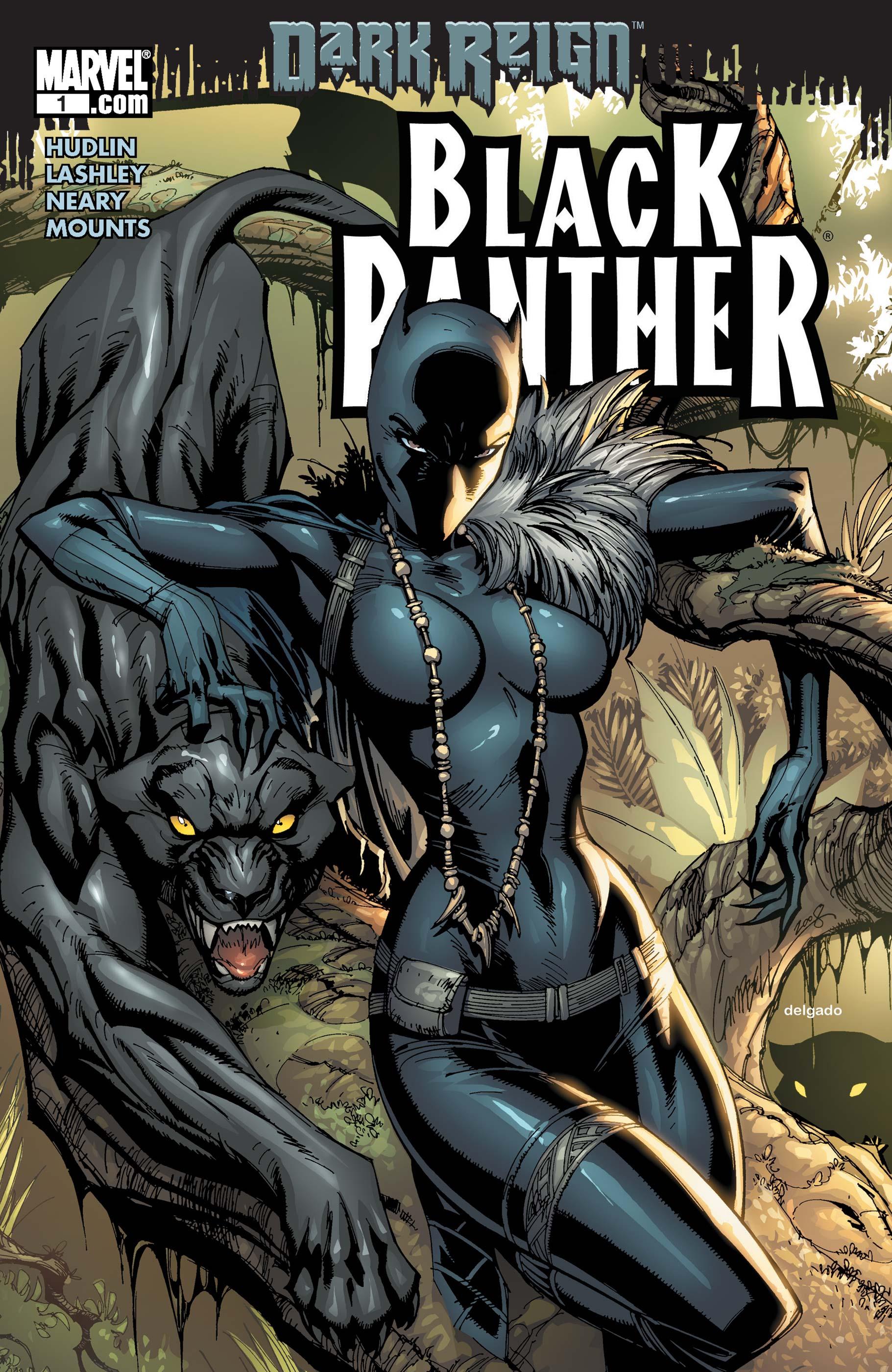 Black Panther (2009) #1