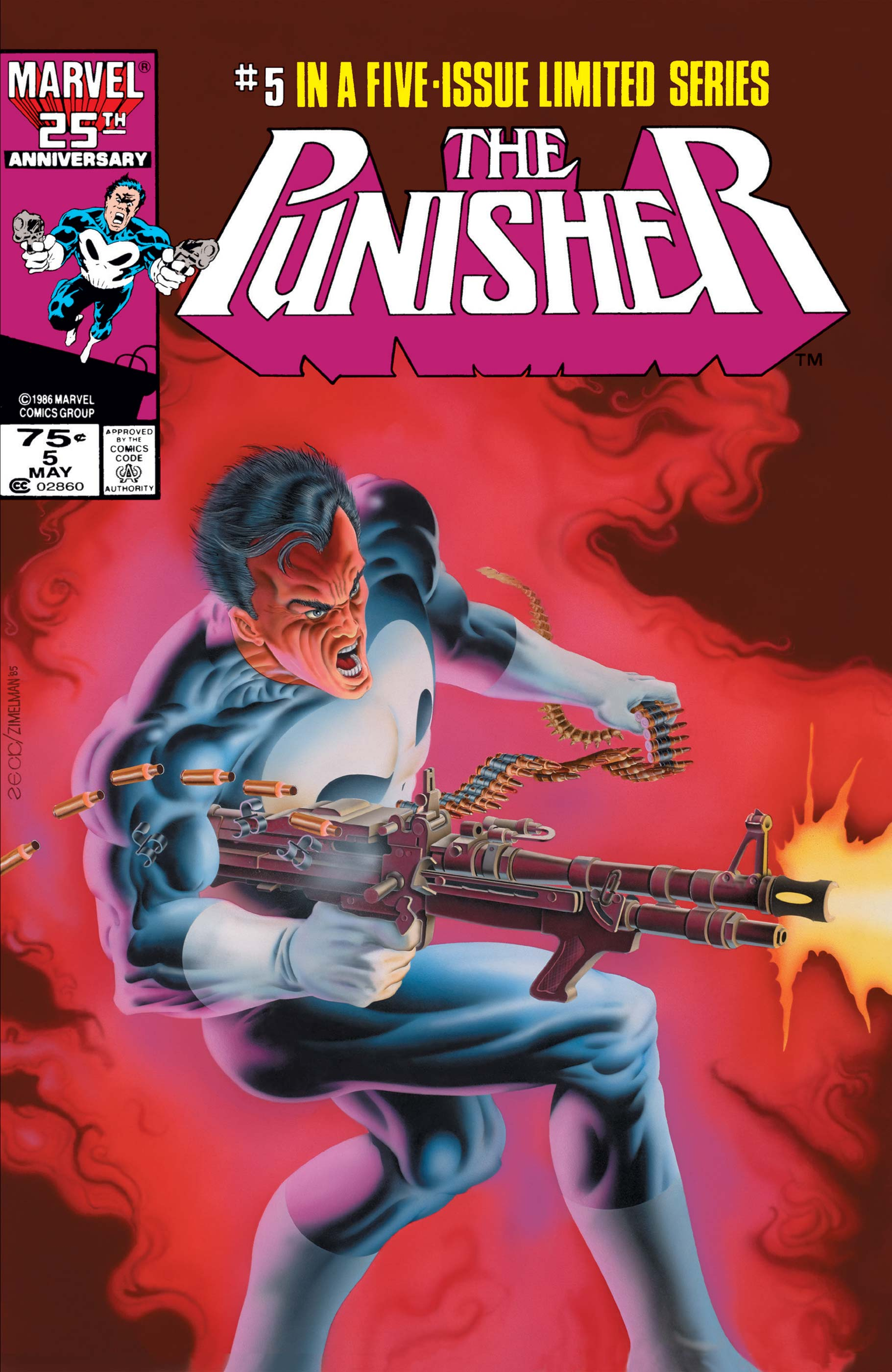 The Punisher (1986) #5