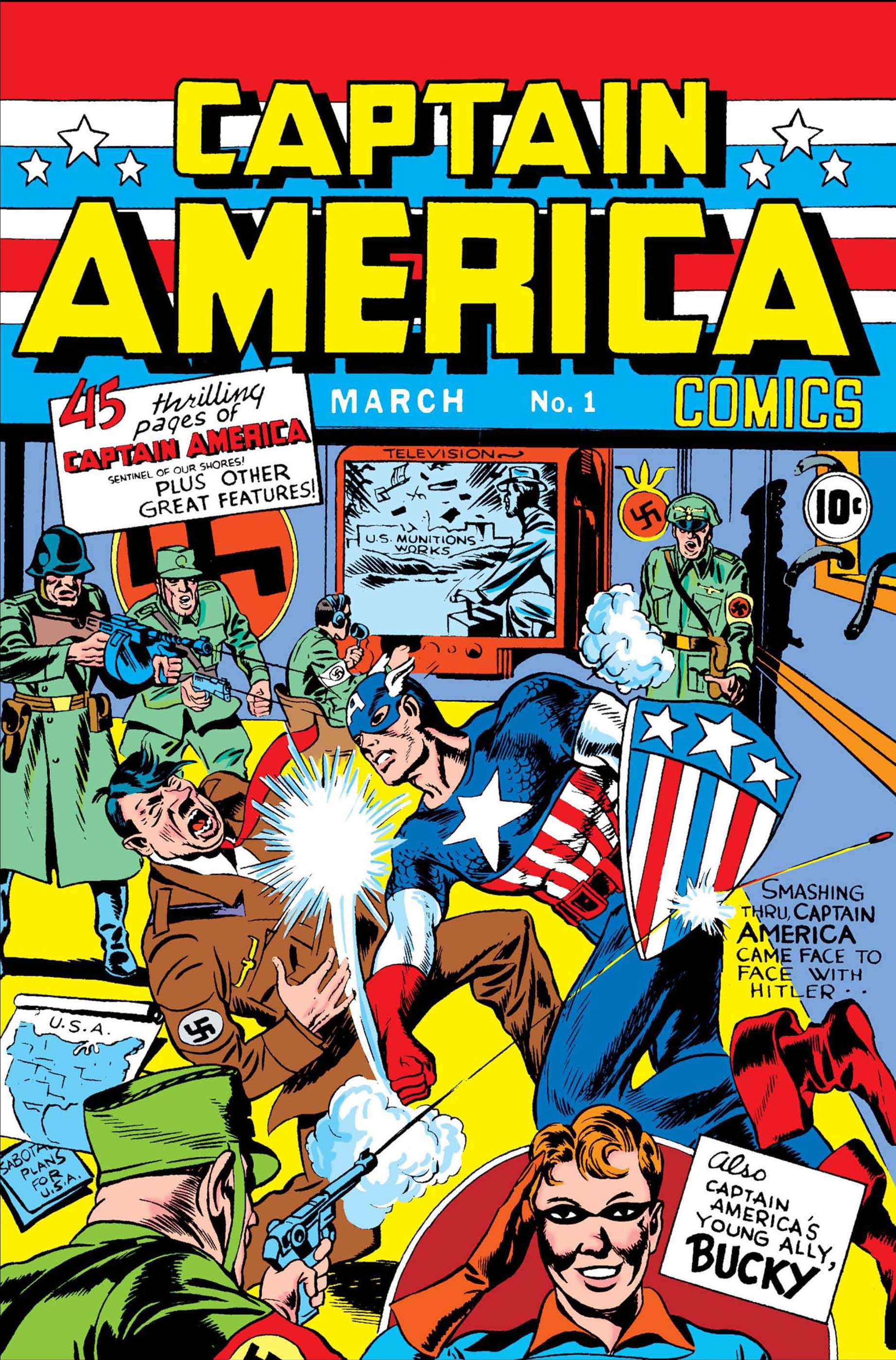 Captain America Comics (1941) #1