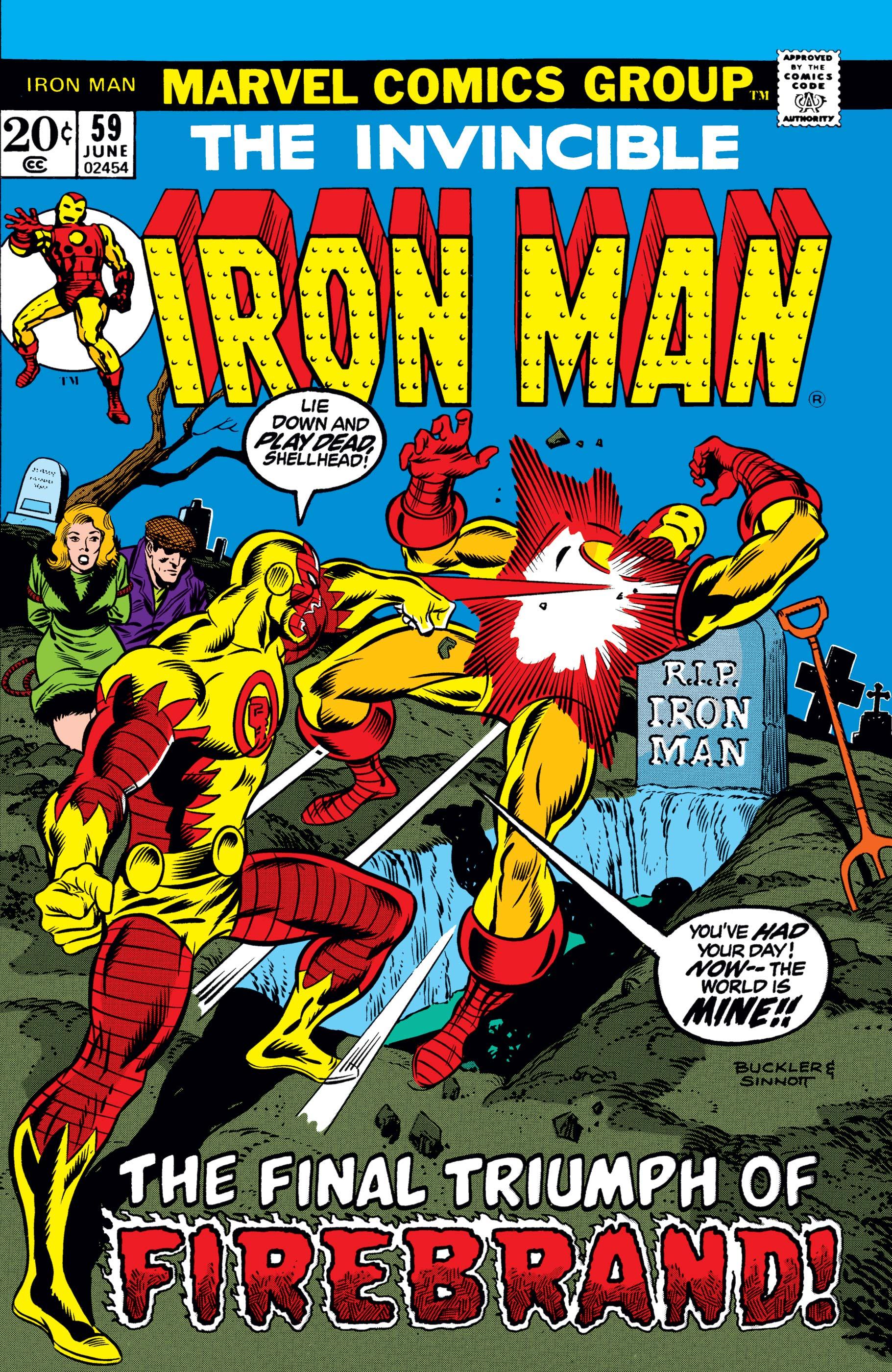 Iron Man (1968) #59
