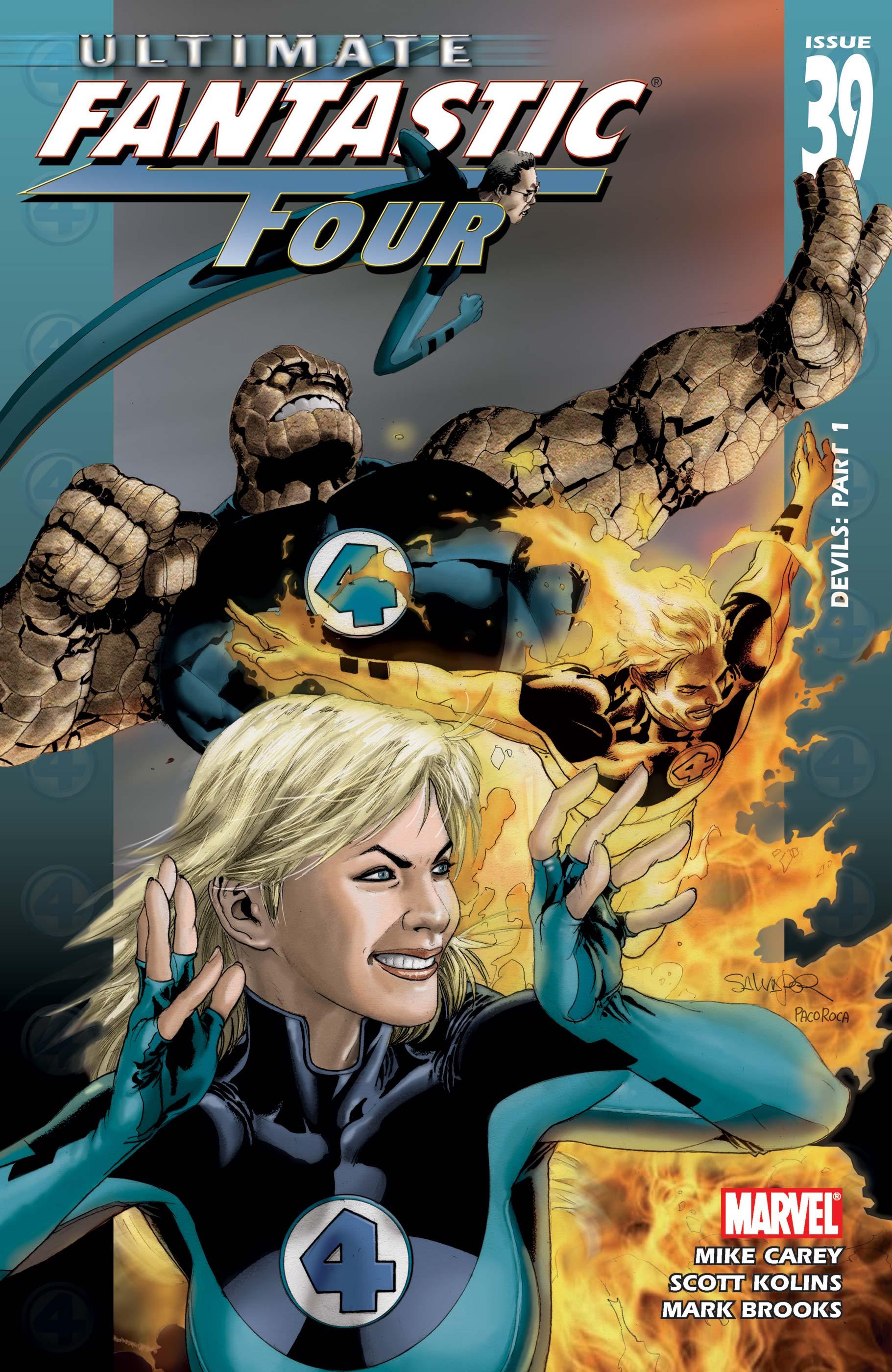 Ultimate Fantastic Four (2003) #39