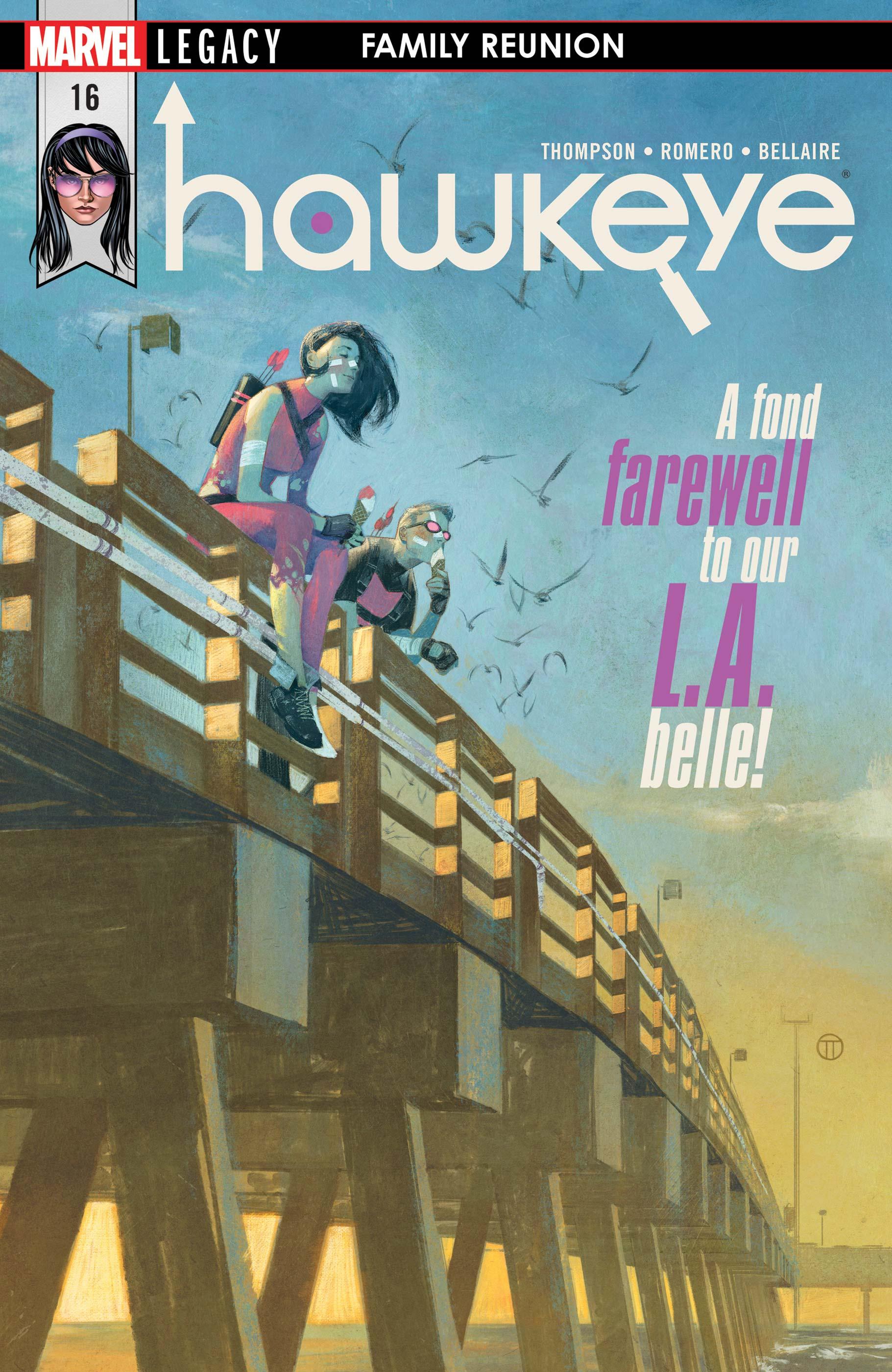 Hawkeye (2016) #16