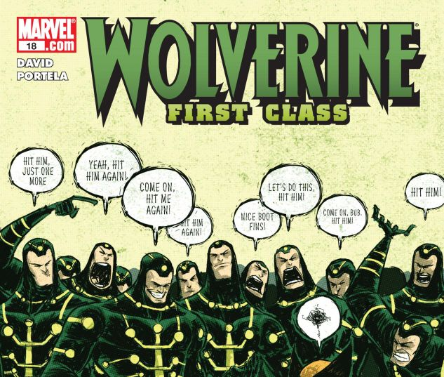 WOLVERINE: FIRST CLASS (2008) #18