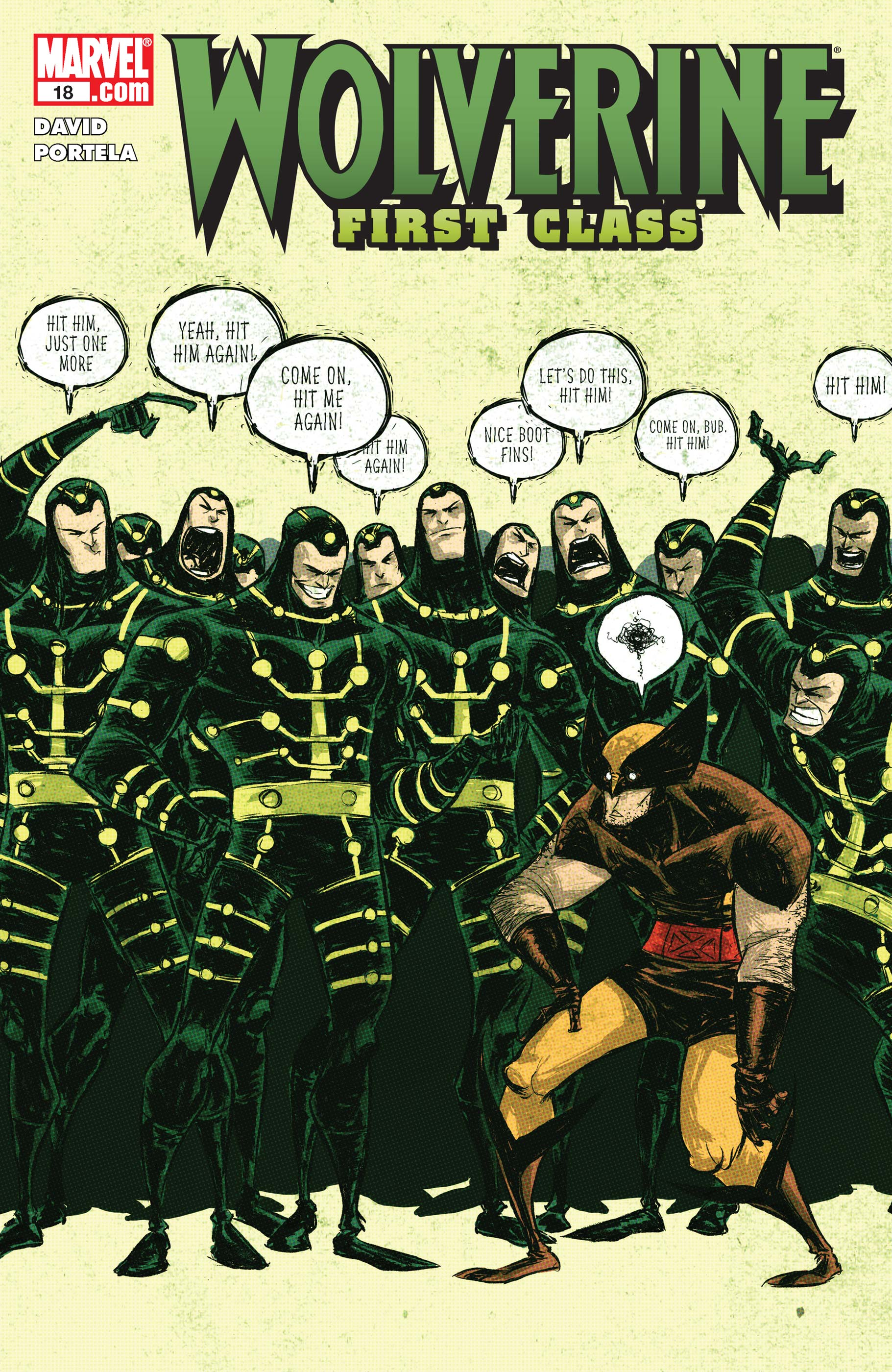 Wolverine: First Class (2008) #18