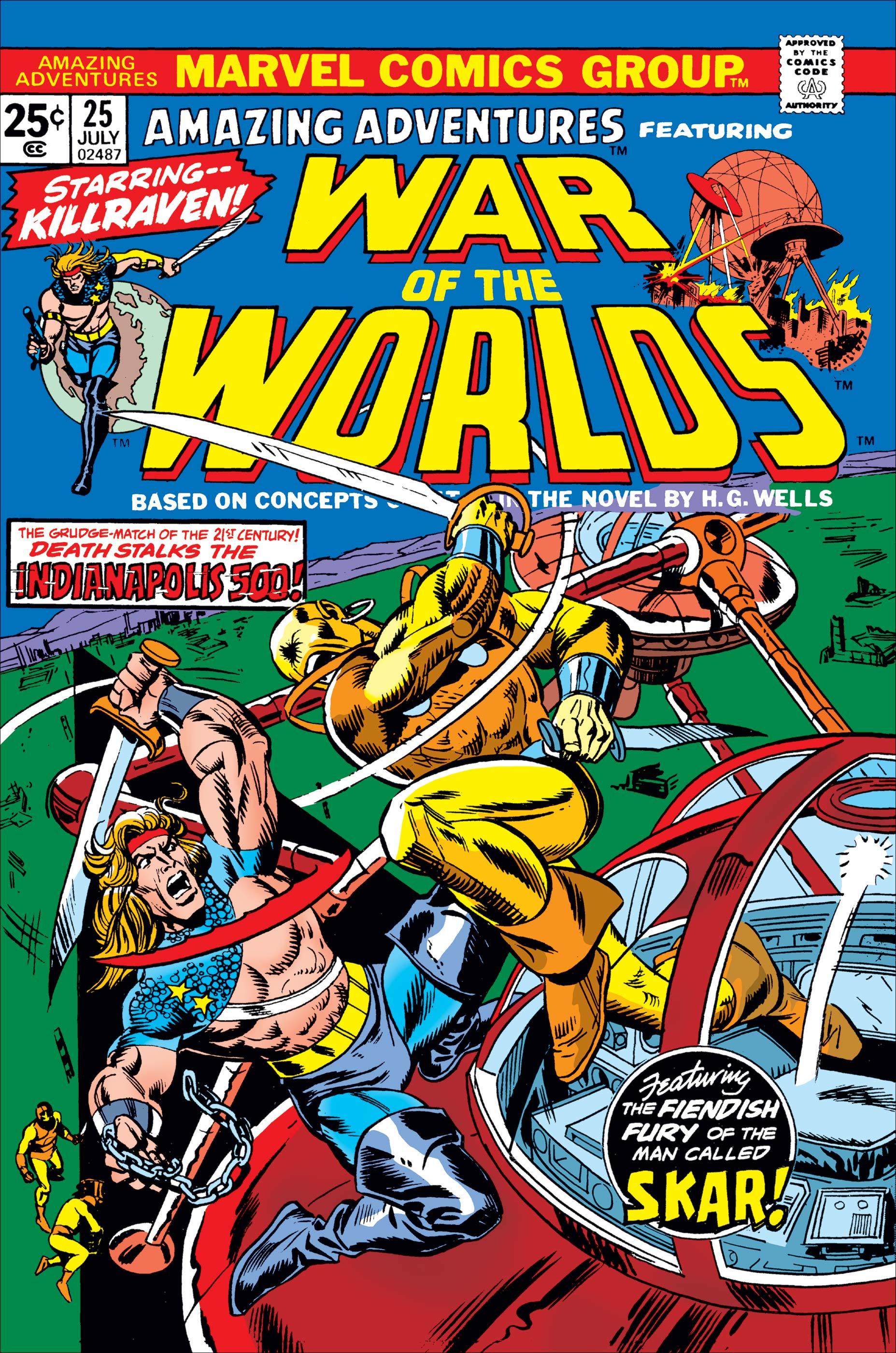 Amazing Adventures (1970) #25